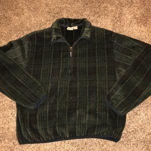 Woolrich  Plaid Fleece Pullover Size L